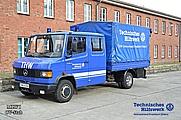 der MLW I dient unter anderem dem Stab und dem OV als Nachschubfahrzeug und Erkundungswagen